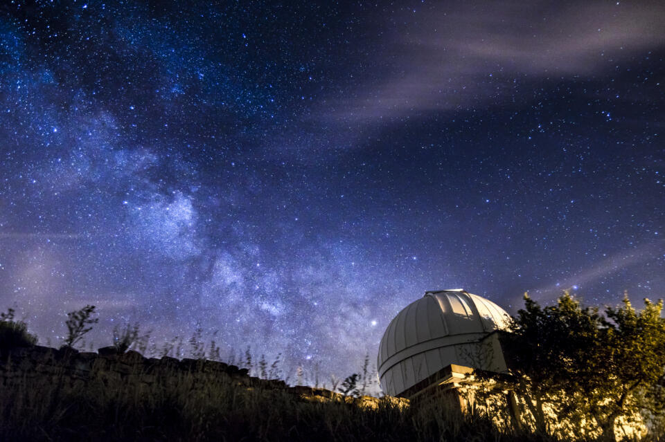 Durchblick zu den Sternen