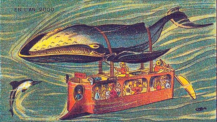 ... und Atlantikquerung mit dem Unterwasser-Wal-Bus