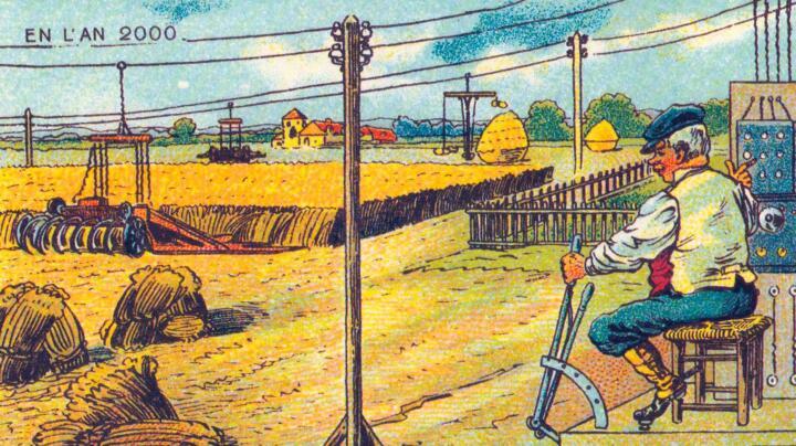 Machine maestros on a farm …