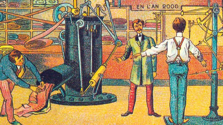 100 years ahead of 3D printing: the steam-powered custom tailor.