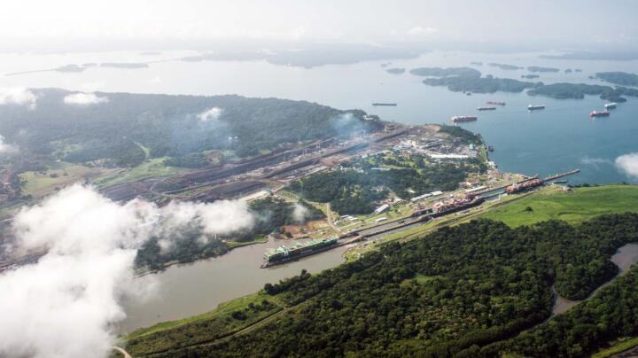 ... and the Panama Canal (14,000)