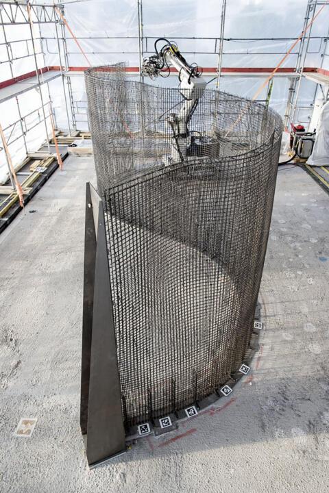 3D-Druck Stahlgitter