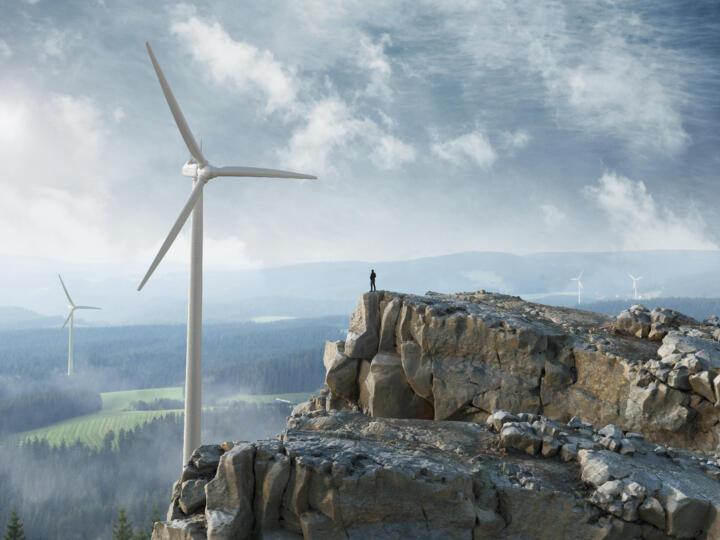 Mit der Kraft des Windes