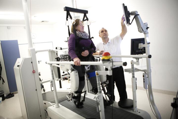 Maschinen beschleunigen den Heilungsprozess und können motivieren