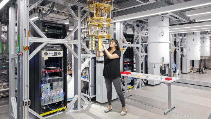 Quantensprung im Netz