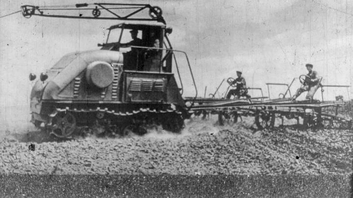 High tech in the fields