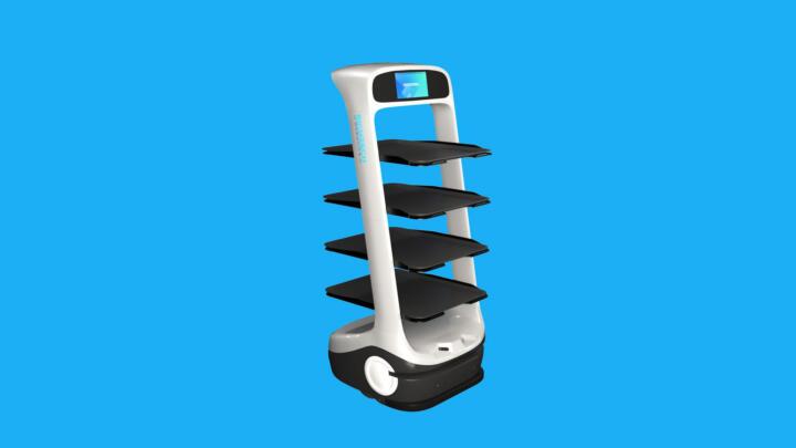 Peanut, der Kellner-Roboter, ist vielleicht nicht die ganz große Hilfe beim Servieren, aber ein deutlicher Fingerzeig, wohin die Reise gehen kann, angesichts eines starken Arbeitskräftebedarfs in der Gastronomie. Der Robo-Ober bringt mithilfe von Lidar-Technik autonom Geschirr von Platz A zu Platz B. Er kann jedoch nicht die Teller selbsttätig auf die Tische stellen, er kann nicht wirklich mit Menschen kollaborieren. Allerdings: Was in der Industrie schon möglich ist, sollte in der Gastronomie doch auch bald funktionieren.